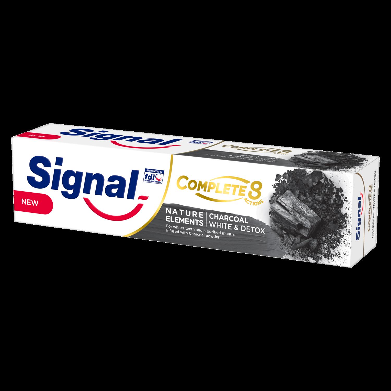 معجون أسنان سيجنال المتكامل 8 بالفحم سيجنال أرابيا Signal